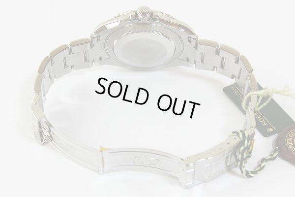 ロレックス ヨットマスター ロレジウム 16622 M654643 銀文字盤 ローレット ブレス