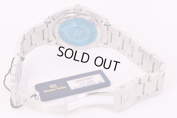 セイコー グランドセイコー SBGV021 9F82-0AF0 銀文字盤 ブレス