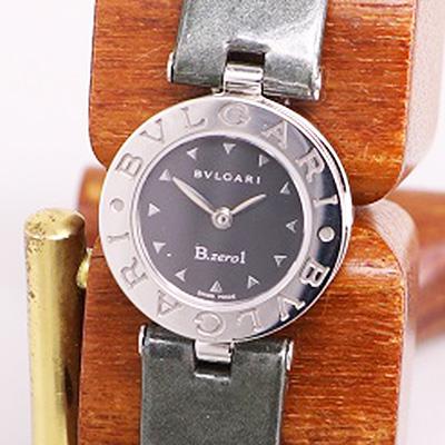 ブルガリ B01 BZ22 クォーツ エナメル黒ベルト 買取