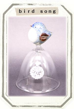 ガラス作品 birdsong