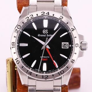 セイコー グランドセイコー SBGM227 GMT 9S66-00B0 黒文字盤