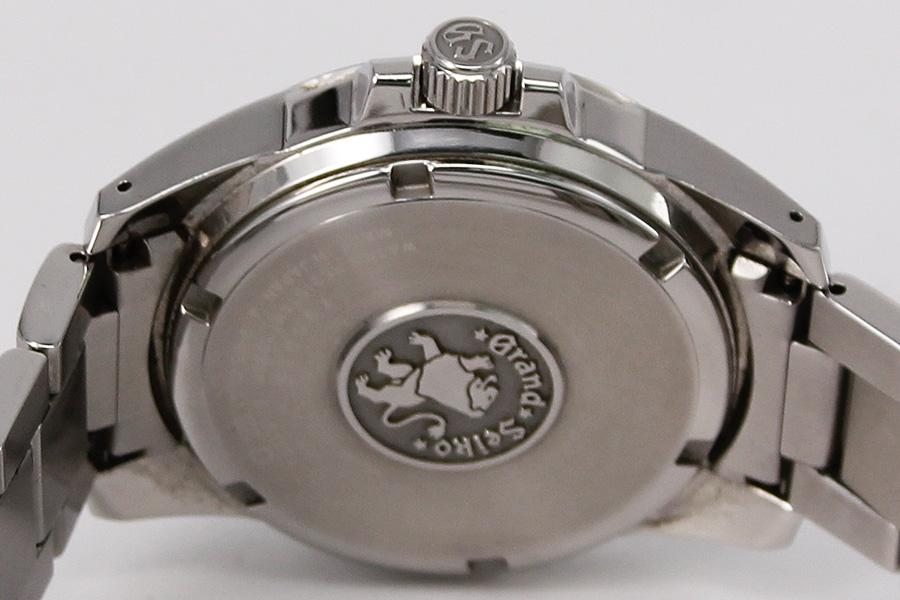 watch f6166 8ca27 セイコー グランドセイコー SBGA027 スプリングD 黒文字盤 9R65-0AG1