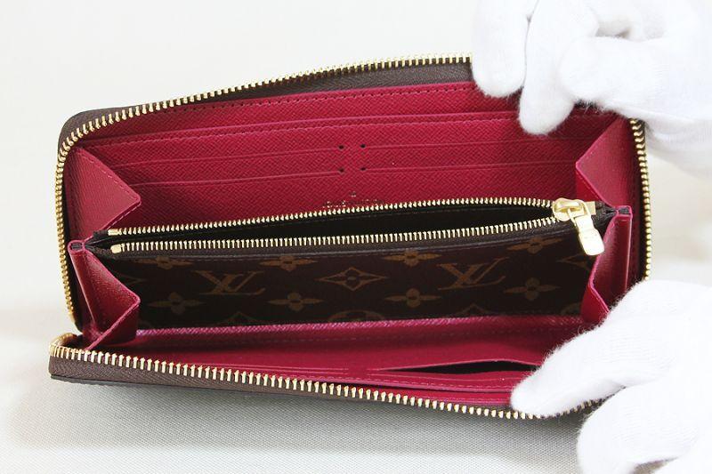 separation shoes 18341 836c5 ルイ・ヴィトン ポルトフォイユ・クレマンス M60742 フューシャ